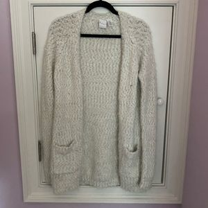 AEROPOSTALE KNITTED CARDIGAN WITH SILVER ACCENTS